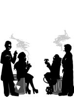 Silhouettes by Kalyn-Palak