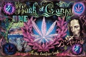 Bank of Ganja by DwalkerArt