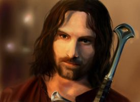 True King of Gondor by Aliciane