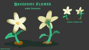BLOOM Project - Savepoint Flower by sweetangel0467