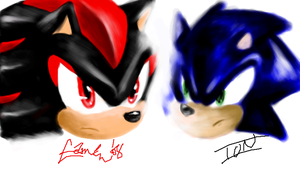 PChat: Sonic and Shadow by V1ciouzMizzAzn