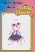 PKMN Crossing - WHY AM I PINK?! by Pepperzy