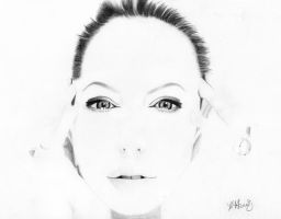 Angelina Jolie by EquineRibbon