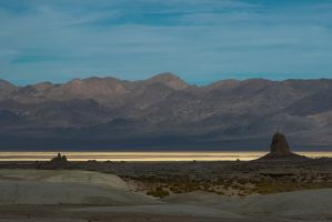 light on a dry lake by ffoster
