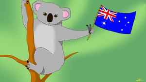 Happy Australia Day! by RainThatFallsSoftly