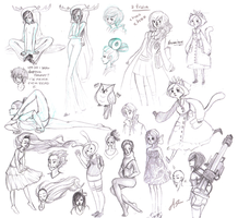 The Dump of Sketches by Forever-Eternal