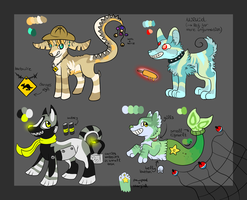 Chibi Collab PayPal/Points Adopts -ALL OPEN- by SilenceMoonskin