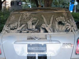 Dirty car art by woody2425
