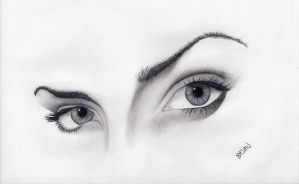 Eyes by Bajan-Art