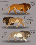 Adoptables - Lion Closed by Anipurk