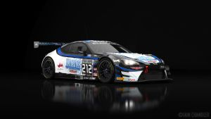 FIA-GT3 ICR Tricpics Toyota GT86 #212 by The-IC