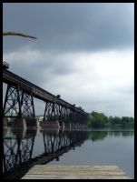 train bridge by moonshadow76