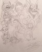 Wander Over Yonder Sketches by XxMoonlight-1-WishxX