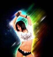 Colorful dancer by 13Firehunter13