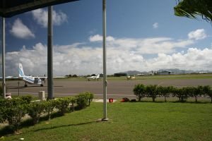 Anguilla Airport by tammyins