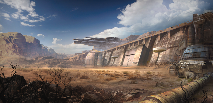 Concept Base Wall 001b by regnar3712