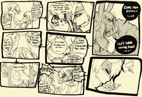 K.N.T Doodle Comic by 13on13on