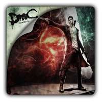DmC Devil May Cry v2 icon by Themx141