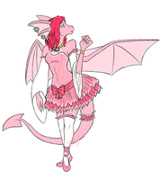 Frilly Pink Maii by krizpie