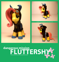 Dangerous Mission Fluttershy by Narxinba222