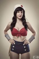 Rosalie Cosplay as Wonder woman by moshunman
