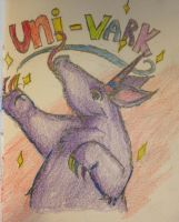 I'm a Uni-Vark and I'm Proud by DidxSomeonexSayxMad