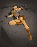 Lara Croft colors final by Salvador-Raga