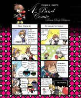 KH 3D 4 panel comic by yellowhima
