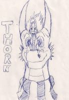 THorn and Apollo - Pen by Dairuga