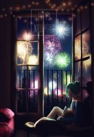 Happy New Year by WanderingLola