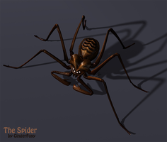 Spider 3D by GingerFoxy