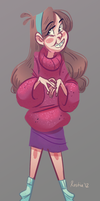 Gravity Falls: Mabel by Kastia