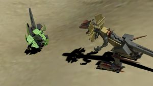 Zoids: Diloforce- Light VS Dark by flack41940