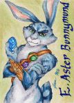 Bunnymund - Playing Card by Jianre-M