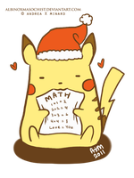 Pikachu ate my homework by AxMongrel