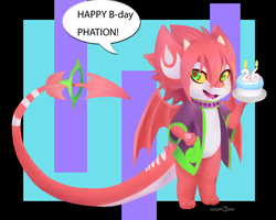 Happy birthday by foxwizard916