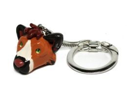 Wolf Character Keychain by LeiliaK