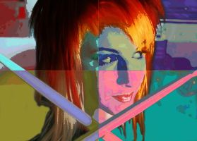 Hayley Williams Pop art portrait by FFgeek97116