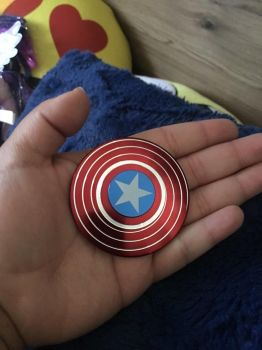 Captain America Finger Snipper  by ZombieLover93
