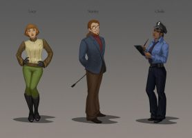 Characters by inSOLense