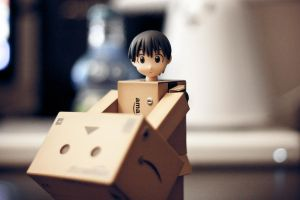 Say Hello to Danbo by Sprykritic