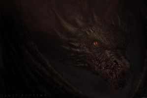 Drogon by JamesBousema