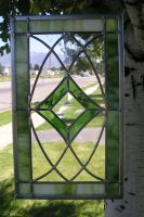 Stained Glass Lead Piece 3 by CeltCraft