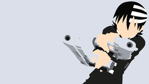 Death the Kid from Soul Eater | Minimalist by matsumayu