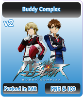 Buddy Complex v2 - Anime Icon by Rizmannf