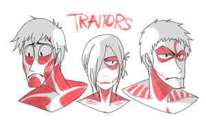TRAITORS by Wowza-Wowzers