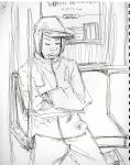 man on the train by PALguy329