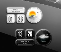 Round Square Widget for xwidget by jimking