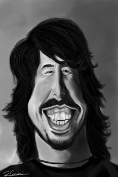 Dave Grohl by foche2d