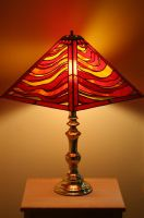 Ring of Fire Lamp by Figureheadglass